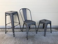 Matt welded stools