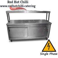 Pass through hot cupboard