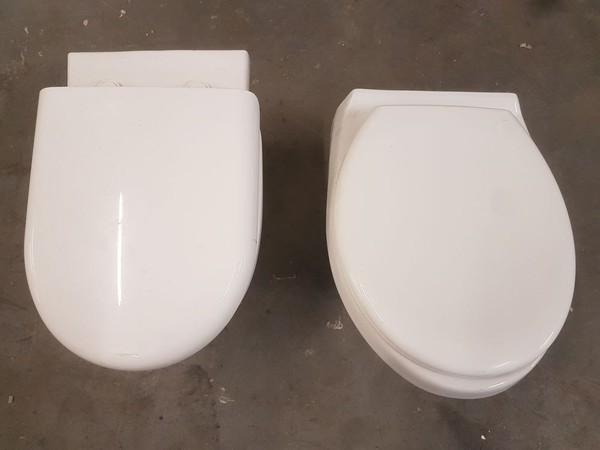 Secondhand toilets