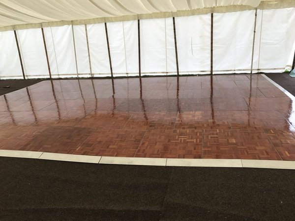 Used dance floor