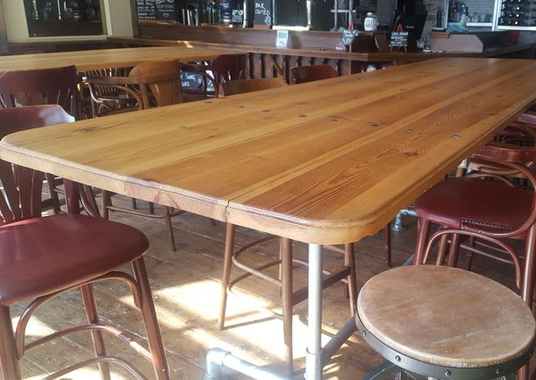 Large bar table