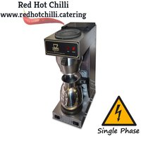 Coffee filtering machine