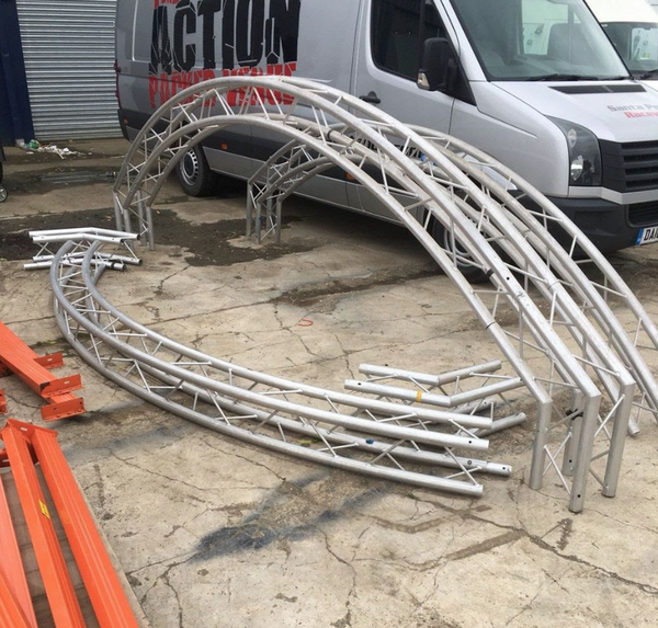 Used truss system