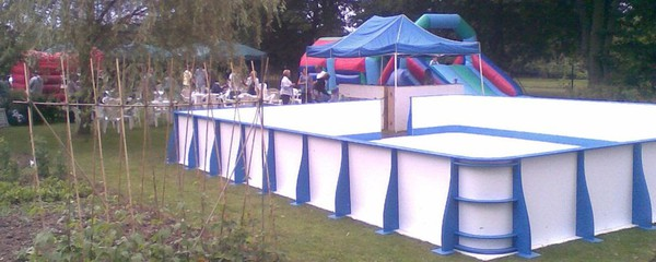 Secondhand ice rink