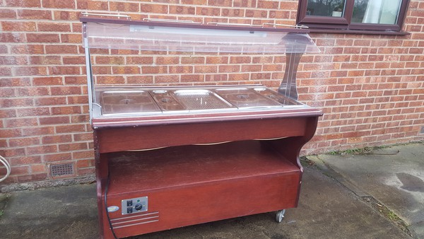 Rollergrill buffet cart