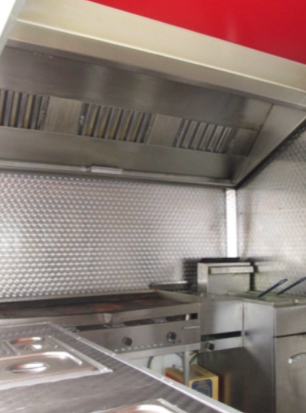 Professional range catering trailer