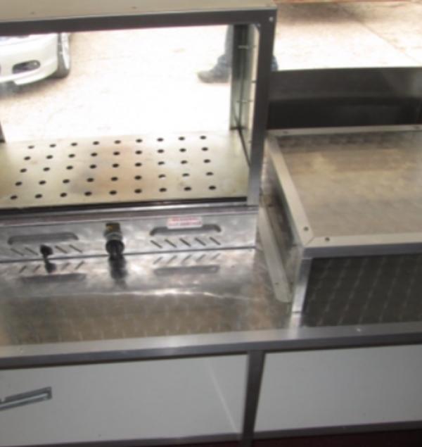 Secondhand mobile kitchen trailer