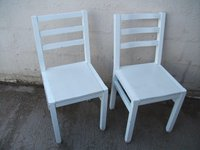 Shabby white chairs for sale