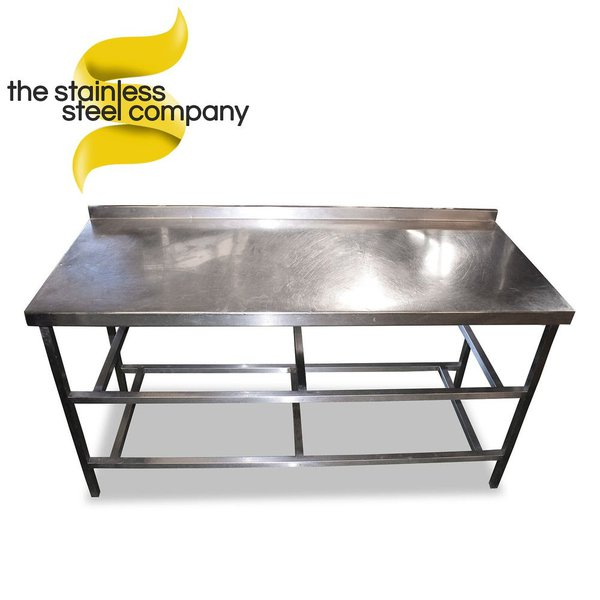 1.6m Stainless Steel Table (SS324) - Cheshire