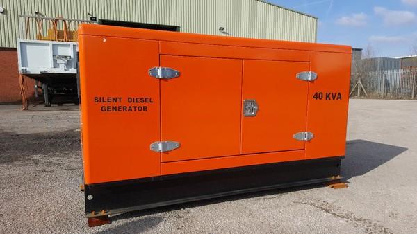 Unused Kawakenki 40Kva Silent Generator