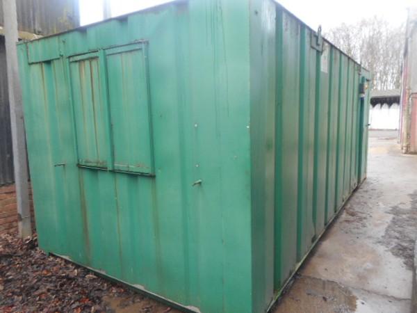 Green 21x9 anti vandal site office