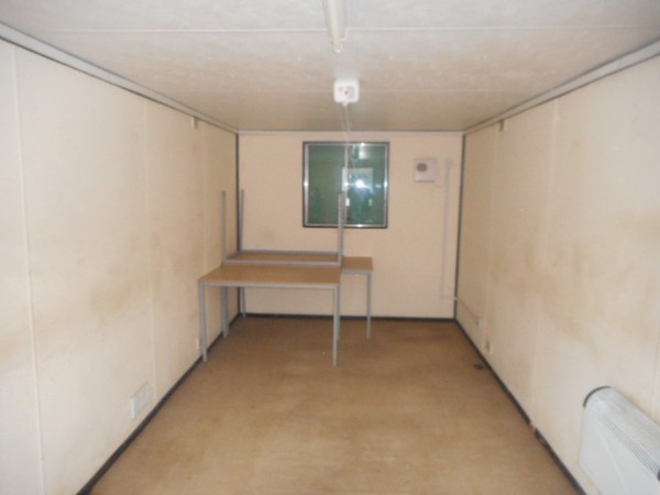 Second Hand 21x9 anti vandal site office