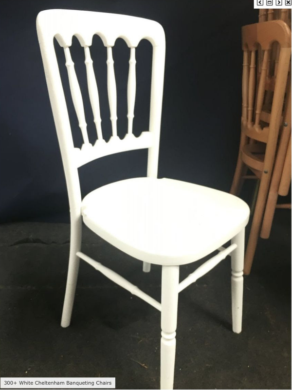 Cheltenham banqueting chairs for sale