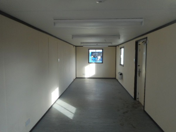 Open plan office container