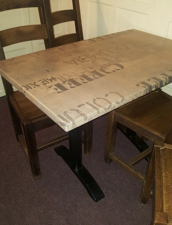 Secondhand bistro tables for sale