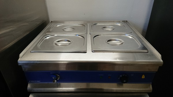 Secondhand catering equipment bain maries for Cuisson four bain marie