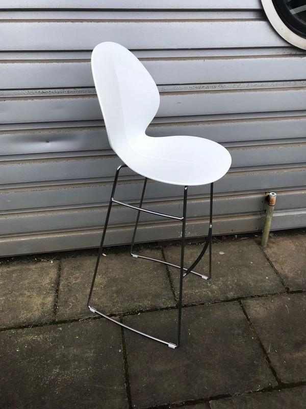 Chrome framed bar stools