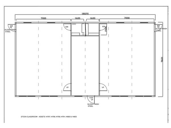 Single storey Modular buliding