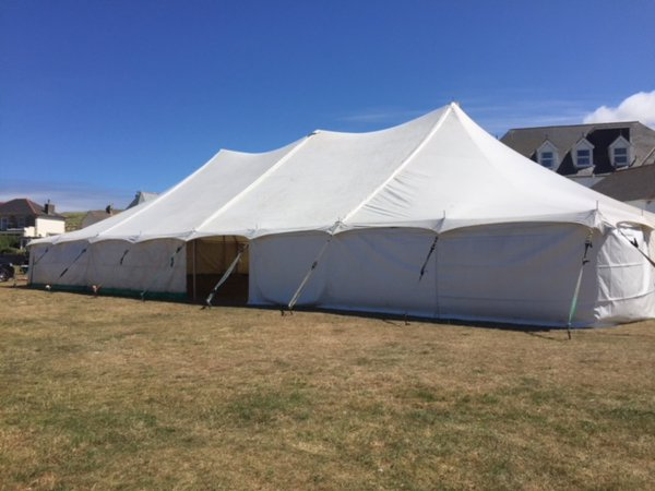 40ft x 60ft Canvas Traditional Marquee with Walls