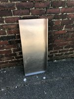 Stainless steel table top