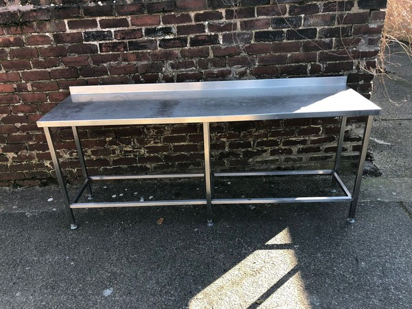 Stainless Steel Table - No Shelf