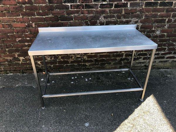 1.5m stainless steel prep table