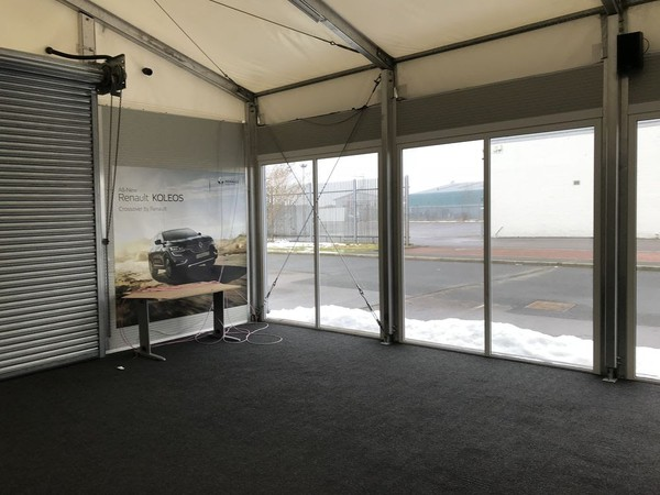 Relocatable car show room for sale