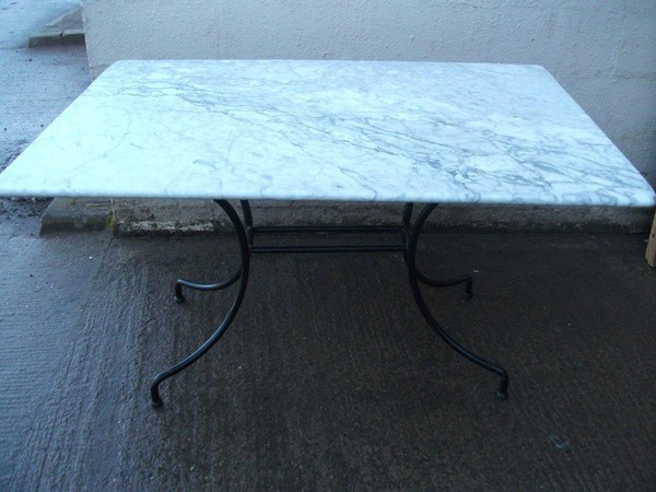 Oblong marble tables for sale