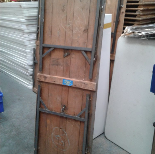 Buy secondhand trestle tables