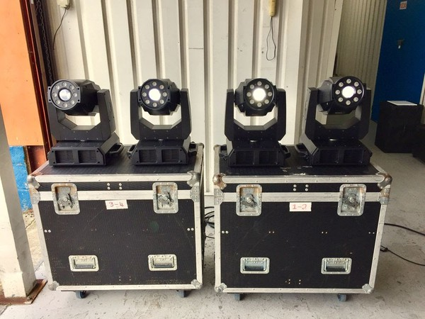 Secondhand moving LED lights