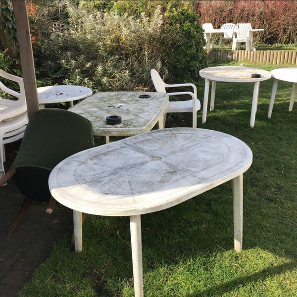 Outdoor furniture job lot for sale