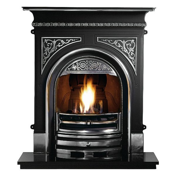 Tregaron Cast Iron Combination Fireplace