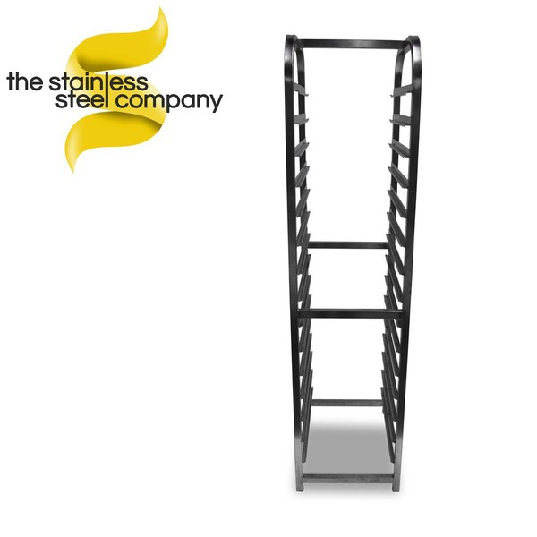 Stainless steel gastronorm racking