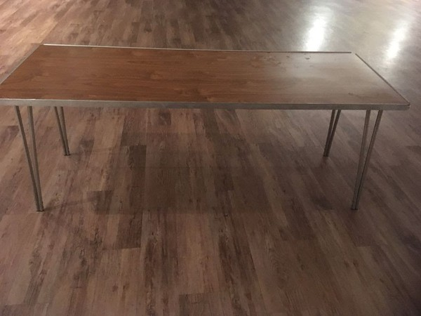 Six foot folding table for sale