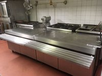 Stainless steel double worker surface