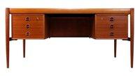 Danish teak desk for sale