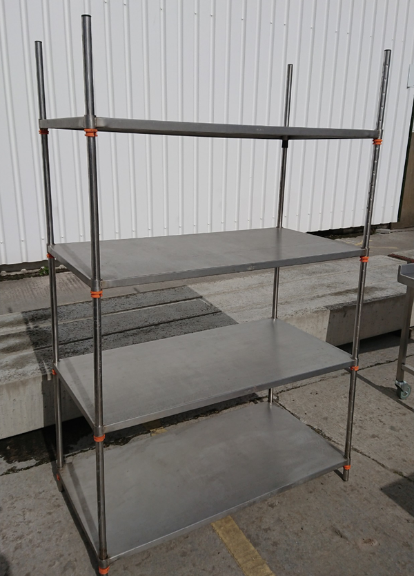 Stainless steel 4 tier rack for sale