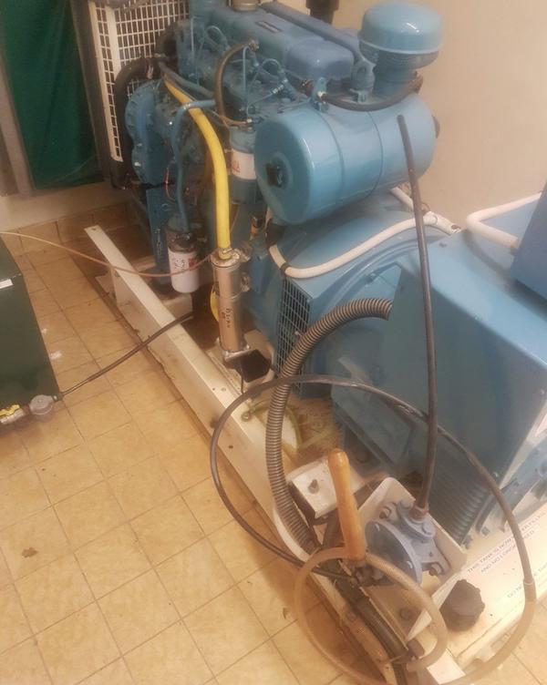 Perkins engine and generator