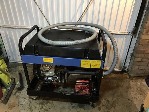 Electric start generators