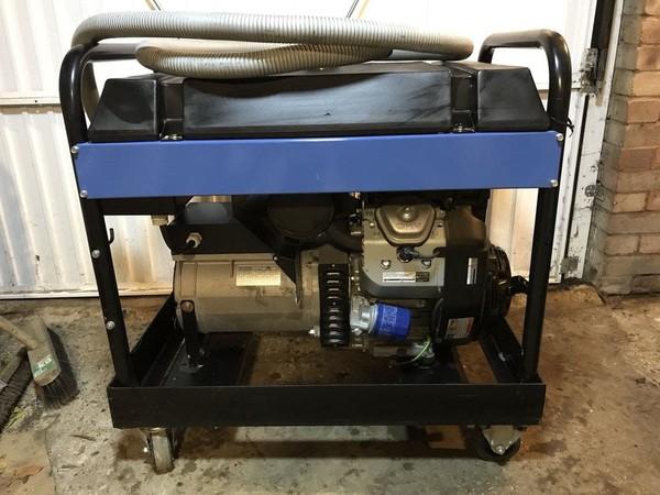 Honda twin engine generator