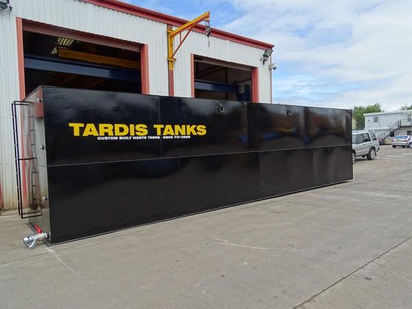 Custom build waste tank for sale