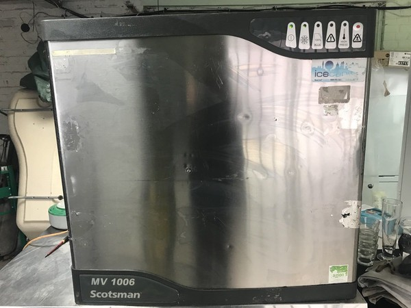 Used ice maker