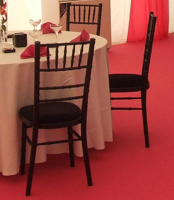 Black Chivari Chairs