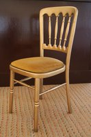 Gold Napoleon Chairs
