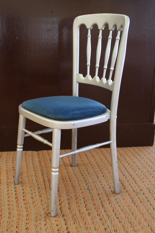 Silver Napoleon Chairs