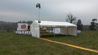 6m x 9m  Custom Covers Clearspan - Bungee Tension