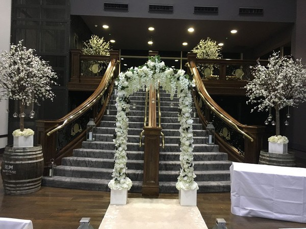 Floral wedding arch for sale