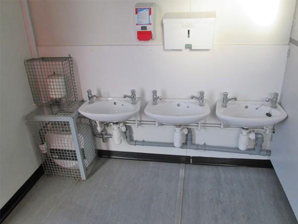 Used Jackleg Plastisol Infant Toilet For Sale
