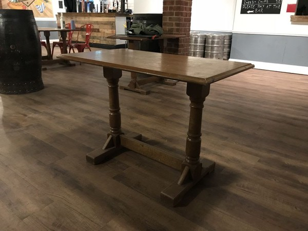 Used wooden tables for sale