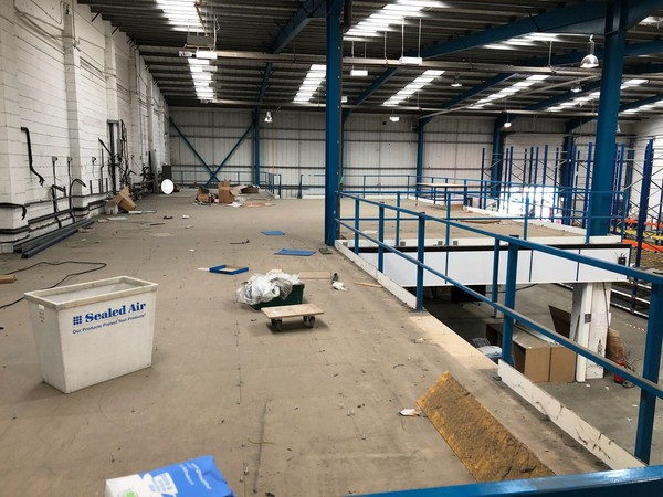 Secondhand mezzanine flooring for sale